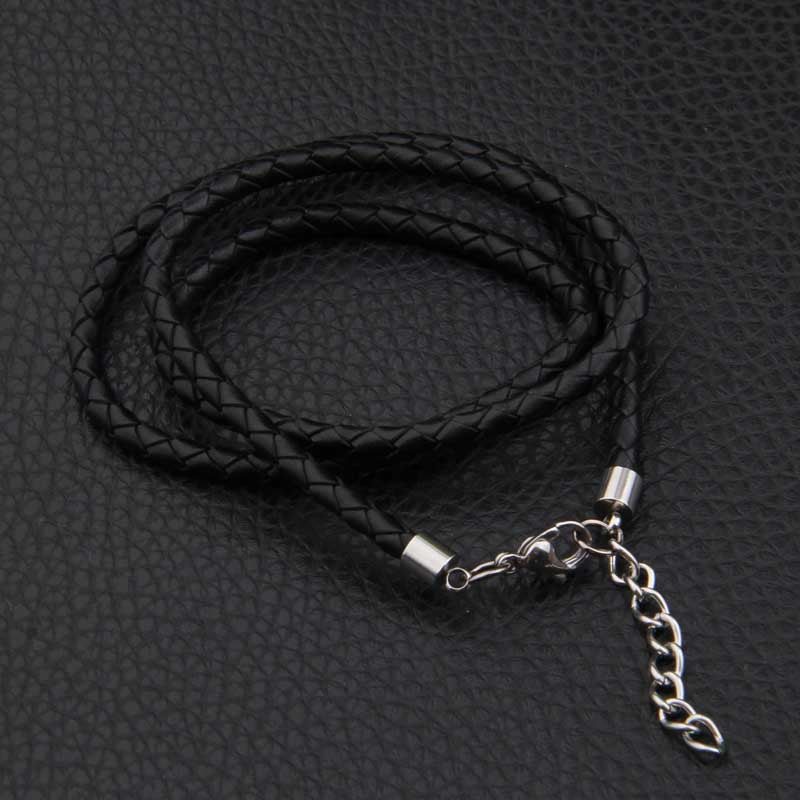 Leather Necklace Chain