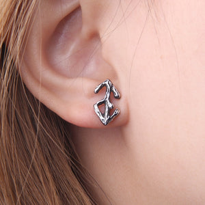 Old Runes - 316L stainless steel Viking Rune Stud Earring