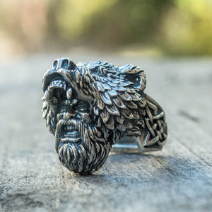 Berserker Warrior 316L Stainless Steel Ring