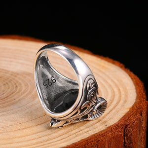 Thor Goats 925 Sterling Silver Ring