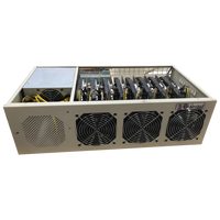 4U 8 GPU P106-100 6GB Cryptocurrency Mining Rig Ethereum Bitcoin, Windows 10 Pro 120V/240V