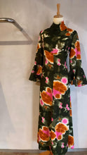 Load image into Gallery viewer, Vintage 1960's Psychedelic custom made maxi dress