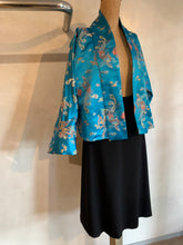 Load image into Gallery viewer, Vintage Tibetan silk cropped jacket