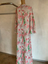 Load image into Gallery viewer, Vintage 1970's Italian maxi dress SUPER RARE