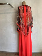Load image into Gallery viewer, Vintage 1970's Cape style dress