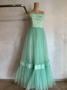 Vintage 1950's Original Ball Gown ONE OF A KIND