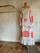 Load image into Gallery viewer, Vintage 1970's chiffon dress