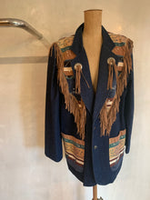 Load image into Gallery viewer, Vintage 1980's Western collection rodeo blazer