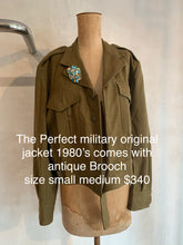 Load image into Gallery viewer, Vintage 1980's Military Jacket