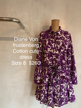 Load image into Gallery viewer, Diane Von Frustenberg dress