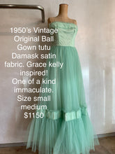Load image into Gallery viewer, Vintage 1950's Original Ball Gown ONE OF A KIND