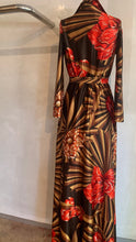 Load image into Gallery viewer, Vintage 1970's French maxi dress