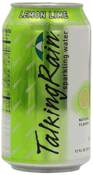 Talking Rain Sparkling Water Lemon Lime Can 12 oz
