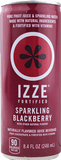 Izze Fortified All Natural Sparkling Juice Blackberry 8.4 oz