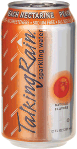 Talking Rain Peach Nectarine Can 12 oz