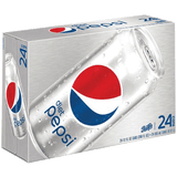 Diet Pepsi Can 12 oz 24 pk