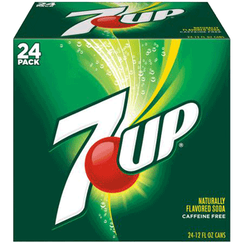 7 Up Can 12 oz 24 ct