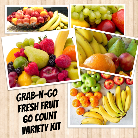 LGV Grab n' Go FRESH FRUIT VARIETY 60ct.