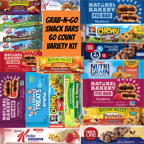 LGV Grab n' Go SNACK BAR VARIETY 60ct.