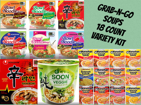 Grab n' Go SOUP VARIETY 18ct.