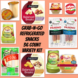 LGV Grab n' Go REFRIGERATED SNACK VARIETY KITS 36ct