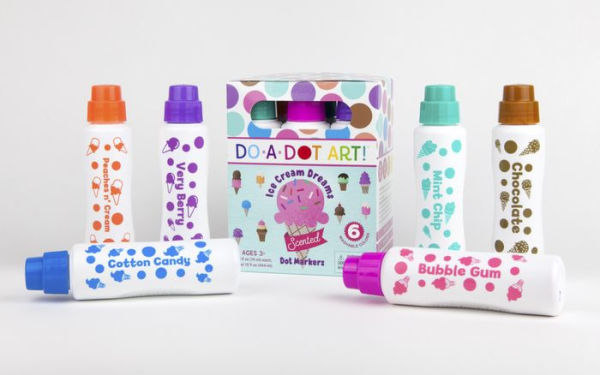 Ice Cream Dreams Markers 6 Pack