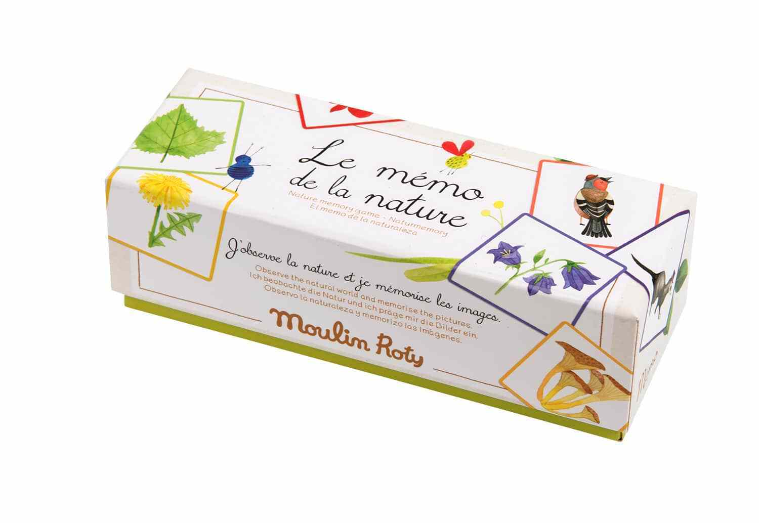 Moulin Roty || Le Jardin Memo Game