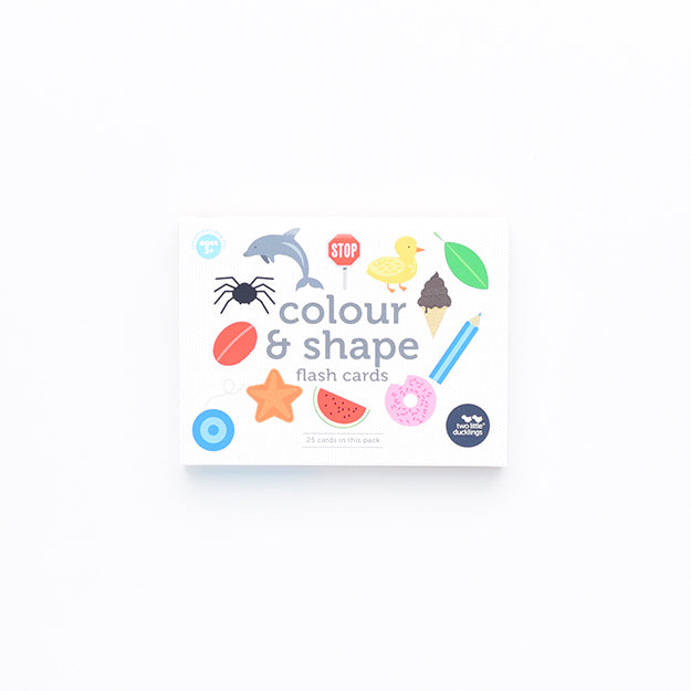 Colour and Shapes Flash Cards