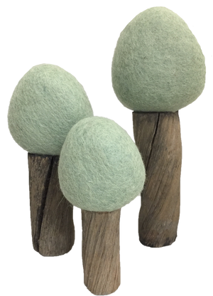 Papoose Toys || Felt Trees