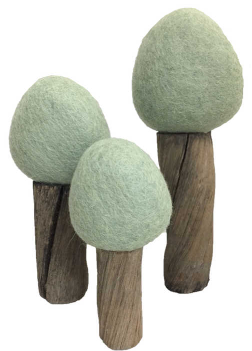 Earth Seasonal Felt Trees
