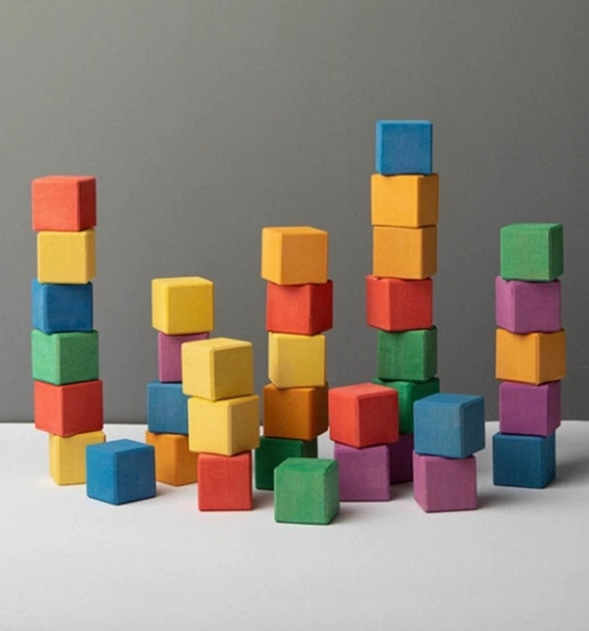 Cube Building Blocks