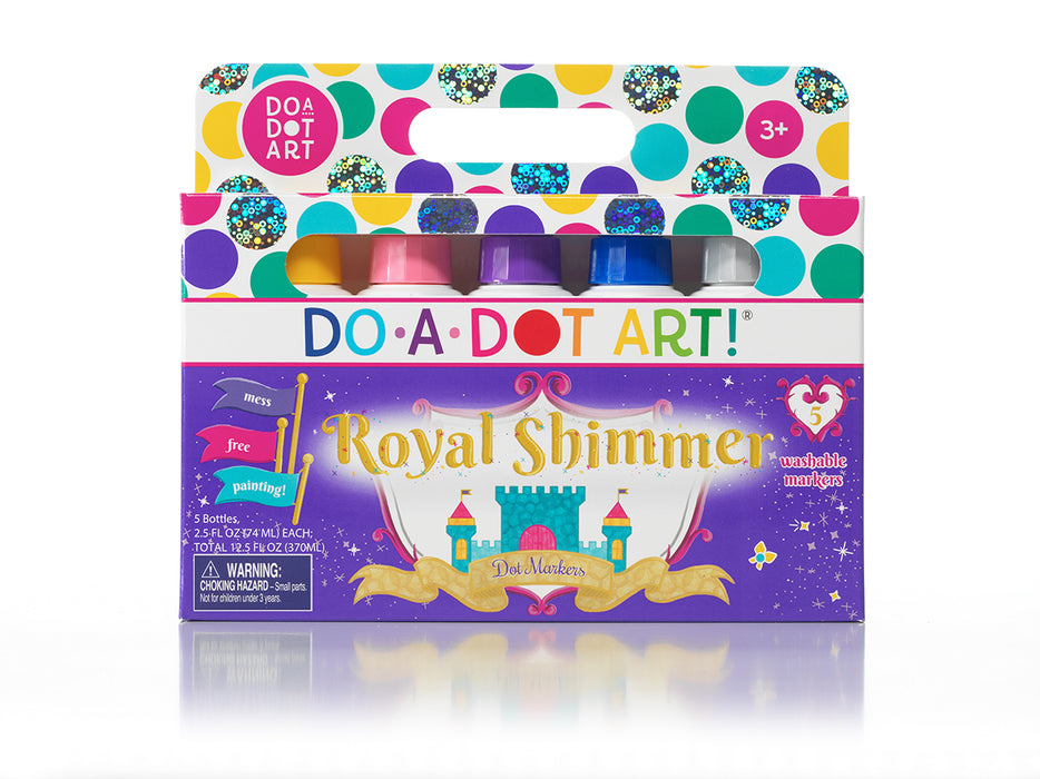 Royal Shimmer Markers 5 Pack