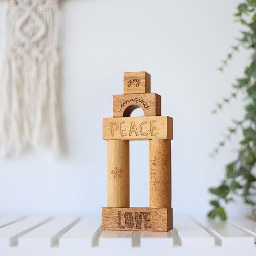 Peace & Love Blocks - 108 Pieces