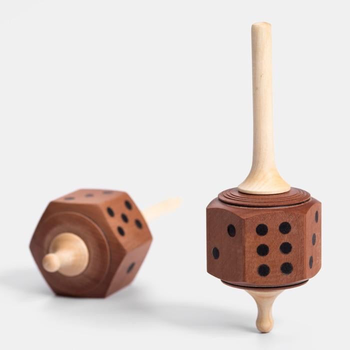 Dice Spinning Top