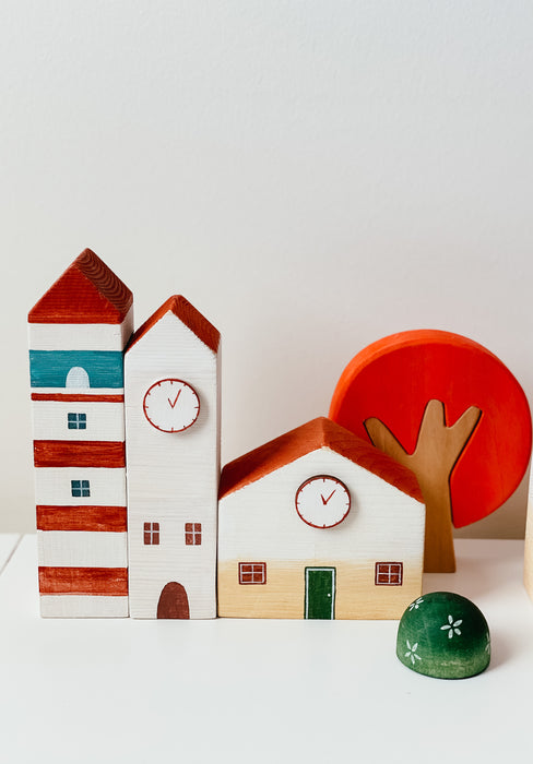 Clock Tower Set