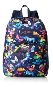 Mochila Jansport Superbreak Rainbow Mania Unisex