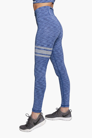 Aqua Glow - High waisted Leggings