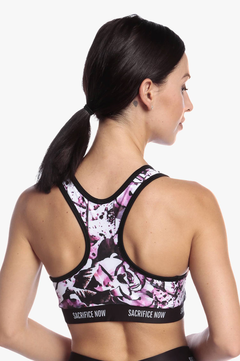 Floral Ambition - Sports Bra