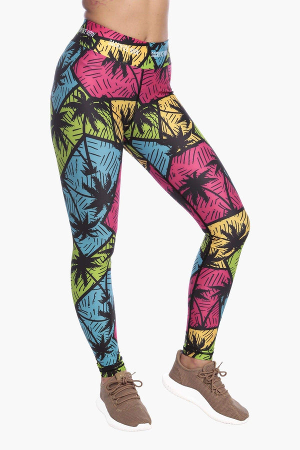 Techno Tropic - Leggings