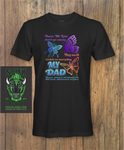 DAD I have you in My heart Dad Fathers day T-Shirt