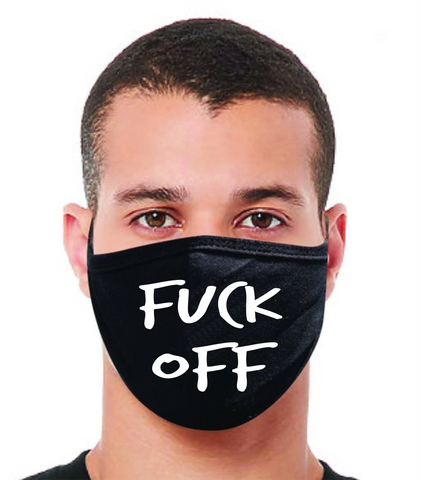 F*CK OFF FM20 Flat Face Cover