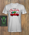 Gnomes in truck with christmas tree Shirt