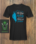 His wings were ready Dad Fathers day T-Shirt