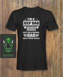 Jeep Dad Fathers day T-Shirt