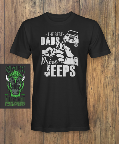 Dads Drive Jeep Fathers day T-Shirt