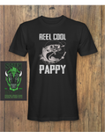Mens Father's Day Gift REEL COOL PAPPY Father's Day T-Shirt
