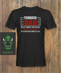 Terrific Dad Funny Fathers day T-Shirt
