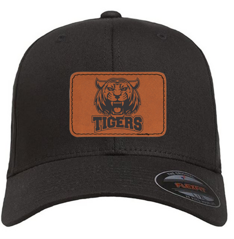 Akron Tigers Flexfit Cotton Twill Fitted Cap Hat