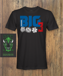 The Big Three First responder T shirt