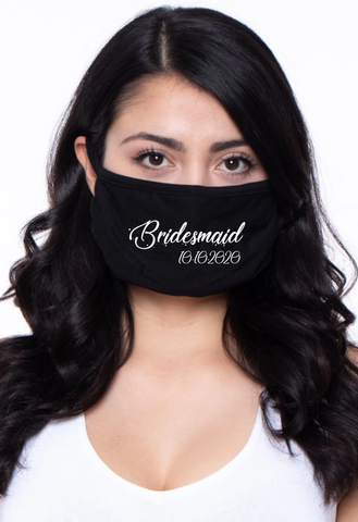 Bridesmaid with Date FM20 Flat Face Cover